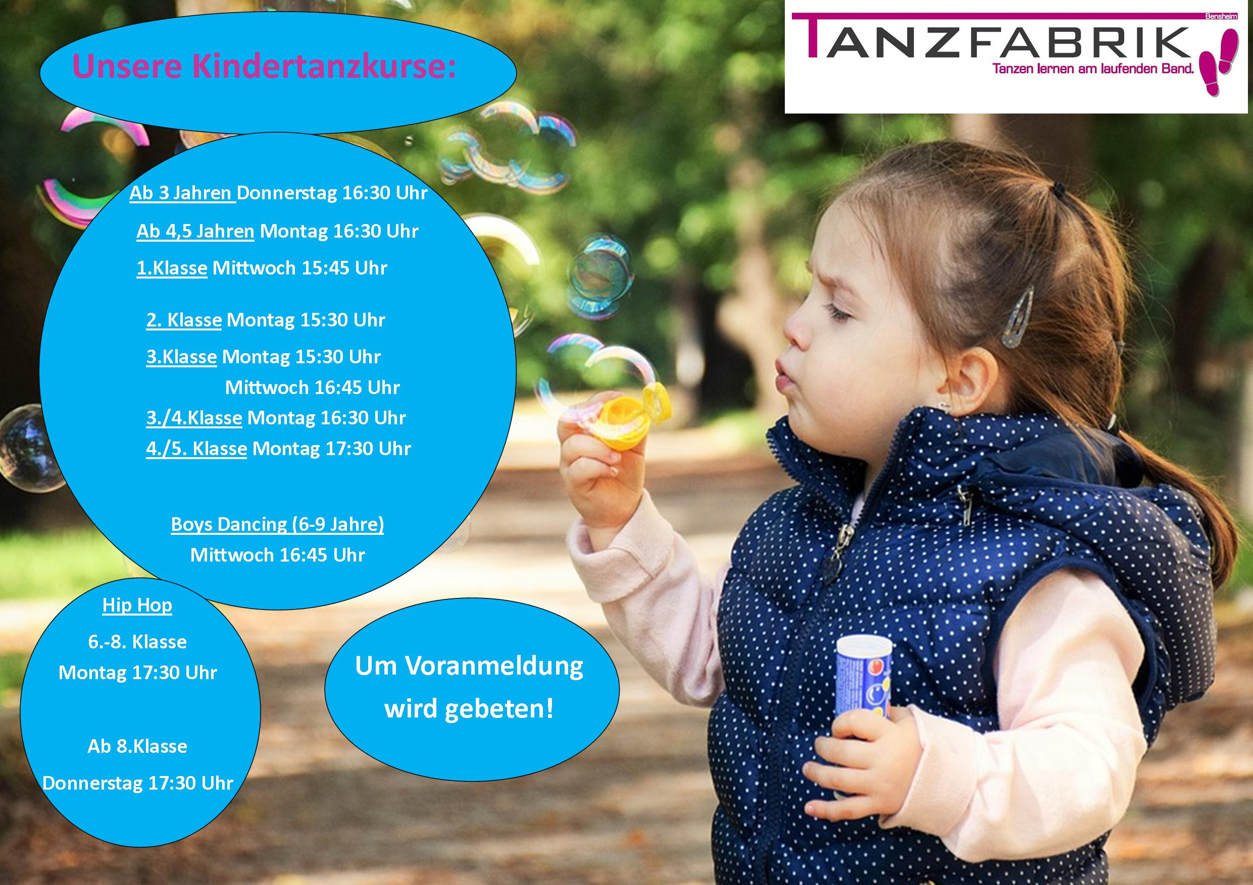 Kindertanz Plakat Jan2018